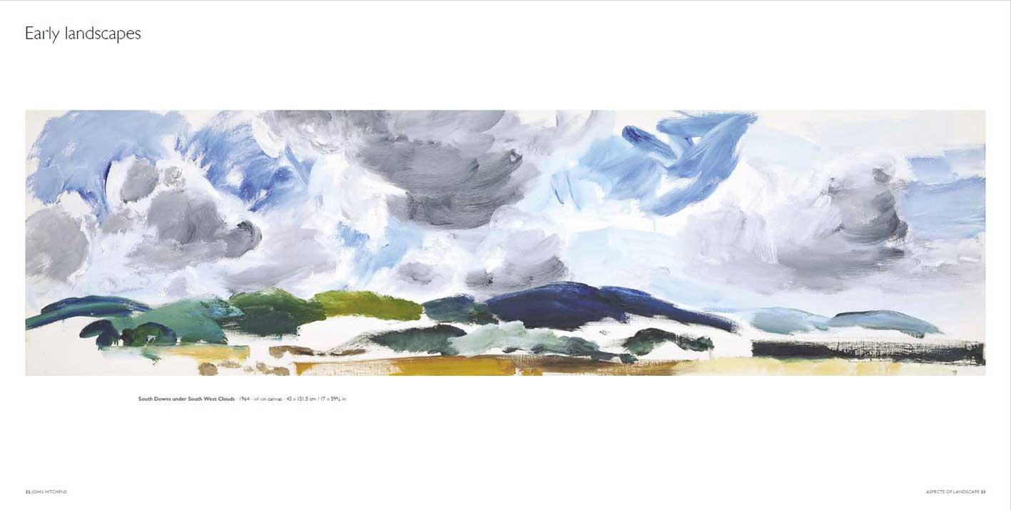'Aspects of Landscape', New publication about artist John Hitchens Artist